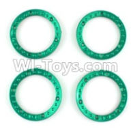 Wltoys 10428-A Parts-Tire positioning ring(4pcs),Wltoys 10428-A Rc Car Parts,High speed 1:10 Scale 4wd,10428-A Electric Power On Road Drift Racing Truck Car Parts