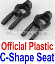 Wltoys 10428-A Parts-Official Plastic C-Shape Seat-2pcs,Wltoys 10428-A Rc Car Parts,High speed 1:10 Scale 4wd,10428-A Electric Power On Road Drift Racing Truck Car Parts