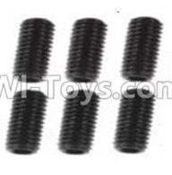 Wltoys 10428-A Parts-A929-85 Jimi screws-M3X8-Black zinc plated(6PCS),Wltoys 10428-A Rc Car Parts,High speed 1:10 Scale 4wd,10428-A Electric Power On Road Drift Racing Truck Car Parts
