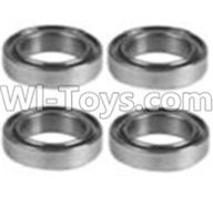 Wltoys 10428-A Parts-K929-52 K939-52 Bearing(10X15X4)-4PCS,Wltoys 10428-A Rc Car Parts,High speed 1:10 Scale 4wd,10428-A Electric Power On Road Drift Racing Truck Car Parts