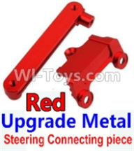 Wltoys 10428-A Parts-Upgrade Metal Steering connecting piece-Red,Wltoys 10428-A Rc Car Parts,High speed 1:10 Scale 4wd,10428-A Electric Power On Road Drift Racing Truck Car Parts