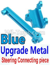 Wltoys 10428-A Parts-Upgrade Metal Steering connecting piece-Blue,Wltoys 10428-A Rc Car Parts,High speed 1:10 Scale 4wd,10428-A Electric Power On Road Drift Racing Truck Car Parts