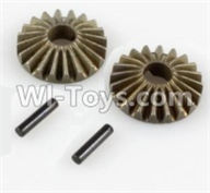Wltoys 10428-A Parts-Differential gear(2pcs),Wltoys 10428-A Rc Car Parts,High speed 1:10 Scale 4wd,10428-A Electric Power On Road Drift Racing Truck Car Parts