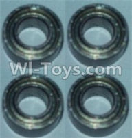 Wltoys 10428-A Parts-Bearing(3X6X2.5)-4pcs,Wltoys 10428-A Rc Car Parts,High speed 1:10 Scale 4wd,10428-A Electric Power On Road Drift Racing Truck Car Parts