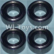 Wltoys 10428-A Parts-Bearing(5X10X4)-4pcs,Wltoys 10428-A Rc Car Parts,High speed 1:10 Scale 4wd,10428-A Electric Power On Road Drift Racing Truck Car Parts