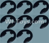 Wltoys 10428-A Parts-4E Shape Buckle(8pcs),Wltoys 10428-A Rc Car Parts,High speed 1:10 Scale 4wd,10428-A Electric Power On Road Drift Racing Truck Car Parts
