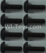 Wltoys 10428-A Parts-Pan head inner hexagon Screws-M2X6-(8pcs),Wltoys 10428-A Rc Car Parts,High speed 1:10 Scale 4wd,10428-A Electric Power On Road Drift Racing Truck Car Parts