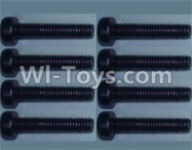 Wltoys 10428-A Parts-Cup head inner hexagon Screws-M2.5X20-(8pcs),Wltoys 10428-A Rc Car Parts,High speed 1:10 Scale 4wd,10428-A Electric Power On Road Drift Racing Truck Car Parts