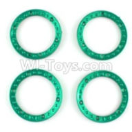 Wltoys 10428-B Parts-Tire positioning ring(4pcs),Wltoys 10428-B Rc Car Parts,High speed 1:10 Scale 4wd,10428-B Electric Power On Road Drift Racing Truck Car Parts