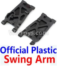 Wltoys 10428-B Parts-Official Plastic Swing Arm-2pcs,Wltoys 10428-B Rc Car Parts,High speed 1:10 Scale 4wd,10428-B Electric Power On Road Drift Racing Truck Car Parts