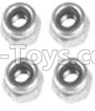 Wltoys 10428-B Parts-A929-95 M3 Locknut(4PCS),Wltoys 10428-B Rc Car Parts,High speed 1:10 Scale 4wd,10428-B Electric Power On Road Drift Racing Truck Car Parts