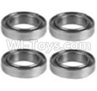 Wltoys 10428-B Parts-K929-52 K939-52 Bearing(10X15X4)-4PCS,Wltoys 10428-B Rc Car Parts,High speed 1:10 Scale 4wd,10428-B Electric Power On Road Drift Racing Truck Car Parts