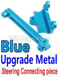 Wltoys 10428-B Parts-Upgrade Metal Steering connecting piece-Blue,Wltoys 10428-B Rc Car Parts,High speed 1:10 Scale 4wd,10428-B Electric Power On Road Drift Racing Truck Car Parts