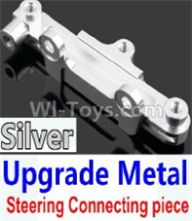 Wltoys 10428-B Parts-Upgrade Metal Steering connecting piece-Silver,Wltoys 10428-B Rc Car Parts,High speed 1:10 Scale 4wd,10428-B Electric Power On Road Drift Racing Truck Car Parts