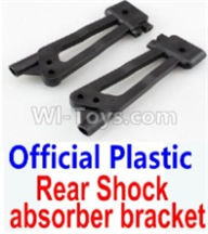 Wltoys 10428-B Parts-Official Plastic Rear Shock absorber bracket-2pcs,Wltoys 10428-B Rc Car Parts,High speed 1:10 Scale 4wd,10428-B Electric Power On Road Drift Racing Truck Car Parts