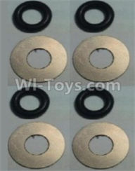 Wltoys 10428-B Parts-Flat Washer(Total 4set,8pcs),Wltoys 10428-B Rc Car Parts,High speed 1:10 Scale 4wd,10428-B Electric Power On Road Drift Racing Truck Car Parts