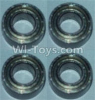 Wltoys 10428-B Parts-Bearing(3X6X2.5)-4pcs,Wltoys 10428-B Rc Car Parts,High speed 1:10 Scale 4wd,10428-B Electric Power On Road Drift Racing Truck Car Parts