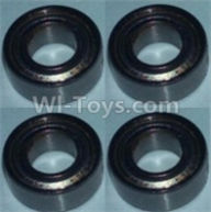 Wltoys 10428-B Parts-Bearing(4X8X3)-4pcs,Wltoys 10428-B Rc Car Parts,High speed 1:10 Scale 4wd,10428-B Electric Power On Road Drift Racing Truck Car Parts