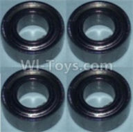 Wltoys 10428-B Parts-Bearing(5X10X4)-4pcs,Wltoys 10428-B Rc Car Parts,High speed 1:10 Scale 4wd,10428-B Electric Power On Road Drift Racing Truck Car Parts