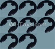 Wltoys 10428-B Parts-4E Shape Buckle(8pcs),Wltoys 10428-B Rc Car Parts,High speed 1:10 Scale 4wd,10428-B Electric Power On Road Drift Racing Truck Car Parts