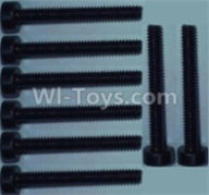 Wltoys 10428-B Parts-Cup head inner hexagon Screws-M2X16-(8pcs),Wltoys 10428-B Rc Car Parts,High speed 1:10 Scale 4wd,10428-B Electric Power On Road Drift Racing Truck Car Parts