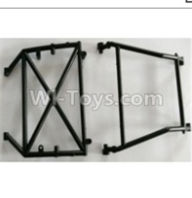 Wltoys 10428-B Parts-0317 Middle Rollcage A,B,Wltoys 10428-B Rc Car Parts,High speed 1:10 Scale 4wd,10428-B Electric Power On Road Drift Racing Truck Car Parts