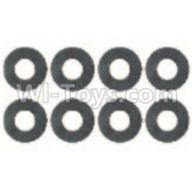 Wltoys 10428-B Parts-0323 Flat Washer(8pcs)-6x9.5x1.5mm,Wltoys 10428-B Rc Car Parts,High speed 1:10 Scale 4wd,10428-B Electric Power On Road Drift Racing Truck Car Parts