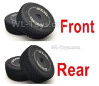 Wltoys 124016 Parts Wheel Tires unit. 2 set Front Wheel + 2 Set Rear Wheel.