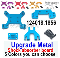Wltoys 124016 Upgrade Metal Shock Absorber Board. 124016.1856. For the Front or the Rear. 5 Color you can choose.