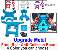 Wltoys 124016 Parts Upgrade Metal Front and rear anti-collision group.124016.1840