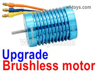 Wltoys 124016 Upgrade Parts Brushless Motor. Steel material is harder and more wear-resistant.