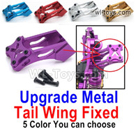 Wltoys 124016 Upgrade Parts Metal Tail Wing Fixed. 4 Color You can choose.
