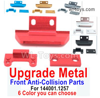 Wltoys 124016 Upgrade Parts Metal Front Anti-Collision Frame. For Wltoys 124016.1257. 6 Color You can choose.