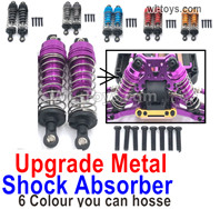 Wltoys 124019 Parts-Shock Absorber. 124019.1837.Total  2pcs.There are 5 colors you an choose.