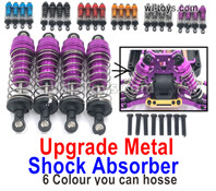 Wltoys 124019 Parts-Shock Absorber,124019.1837. Total 4pcs. There are 5 colors you an choose.