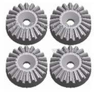 Wltoys 124018 Parts-Metal 16T Differential large planetary gear(4pcs)-(Hardware)-124018.1155