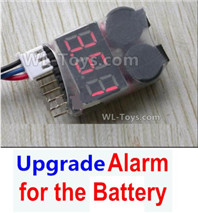 Wltoys 124019 Upgrade Parts-Upgrade Alarm for the Battery, Can test whether your battery has enouth power