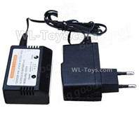 Wltoys 124019 Parts-charger and balance charger(Can charge 1 battery at the same time)