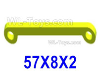 Wltoys 124019 Parts Steering link assembly. 124019.1304