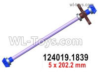 Wltoys 124019 Parts Central drive shaft assembly. 124019.1839.