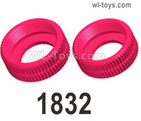 Wltoys 124019 Shock-absorbing sealing cap, 124019.1832. 11*4.5mm.