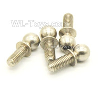 Wltoys 124019 Parts Ball head screws. 4.9X13.6mm. 124019.1337. Total 10pcs.