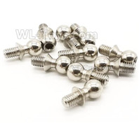 Wltoys 124019 Parts Ball head screws. 4.9X10.6mm-124019.1338. Total 10pcs.