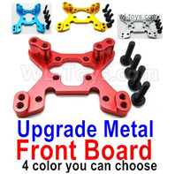 Wltoys 124019 Upgrade Parts-Upgrade Metal Front Shock absorber board-4 Color you can choose