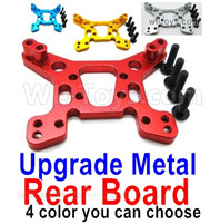 Wltoys 124019 Upgrade Parts-Upgrade Metal Rear Shock absorber board-4 Color you can choose