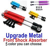 Wltoys 124018 Upgrade Parts-Upgrade Metal Front Shock Absorber(2pcs)-3 Color you can choose-124018.1316