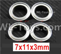Wltoys 124019 Parts-Ball bearing 7X11X3mm-A949-35