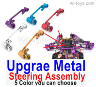 Wltoys 124019 Upgrae Metal Steering Assembly.