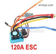 Wltoys 124018 Upgrade Parts ESC Board. 120A current.