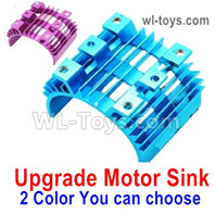 Wltoys 124019 Upgrade Parts Motor Heat Sink. Two colors you can choose.